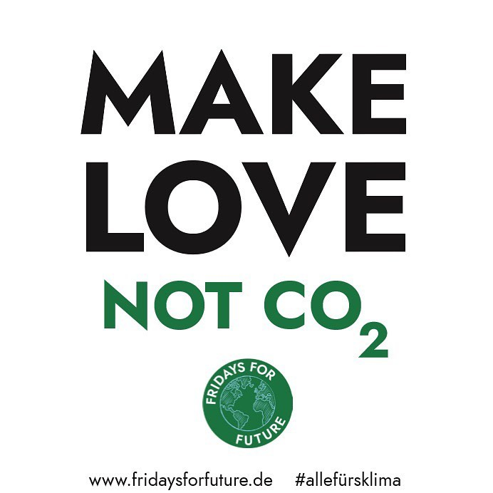 Make Love not CO2