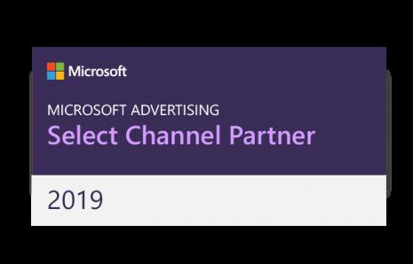 Bing Select Channel Partner