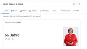 Wie alt ist Angela Merkel?